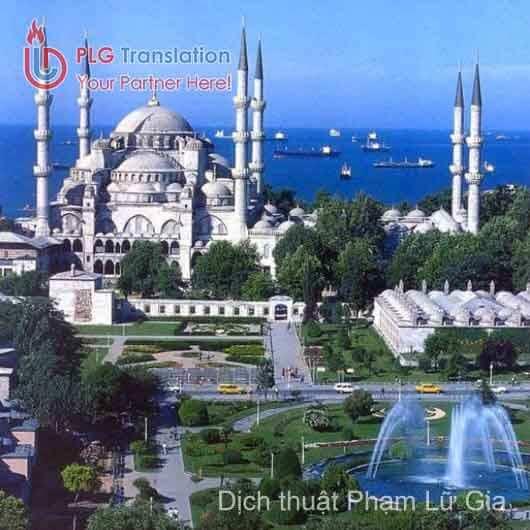 Dịch thuật tiếng Thổ Nhĩ Kỳ