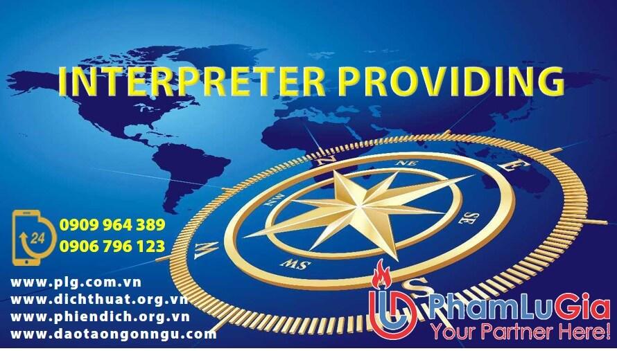 Interpreter Providing