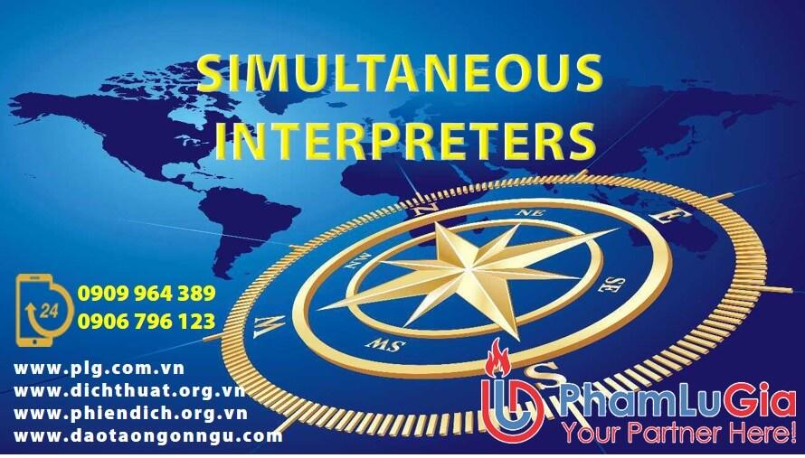Simultaneous Interpreters
