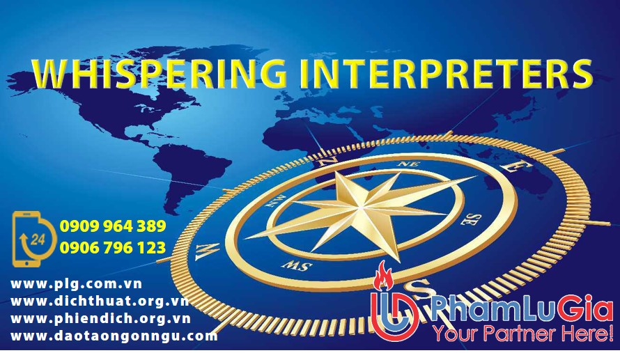 WHISPERING INTERPRETERS