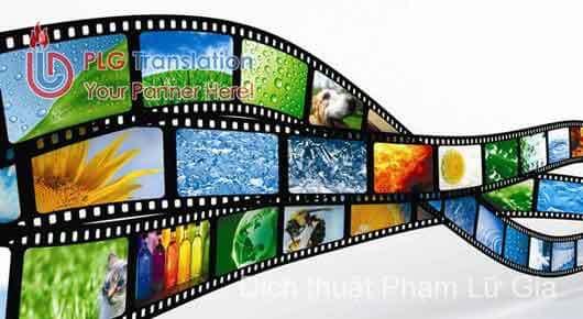 Công ty dịch phim ảnh chuyên nghiệp