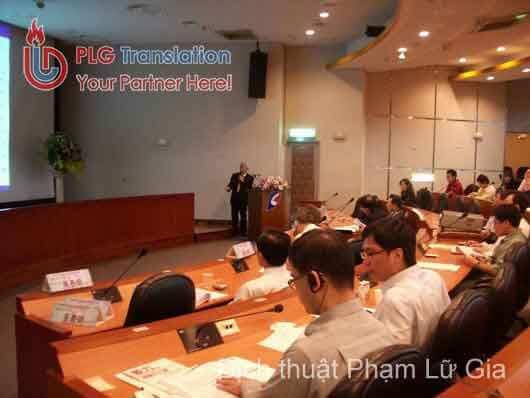 Công ty Phiên dịch hội thảo chuyên nghiệp