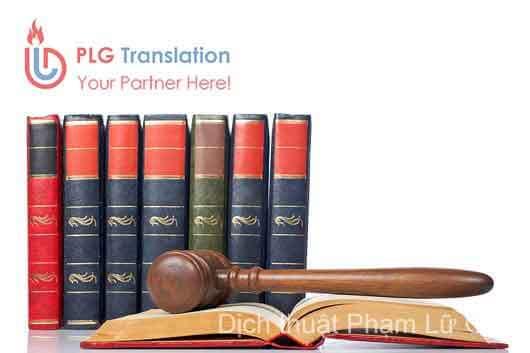 Dịch thuật văn bản pháp luật