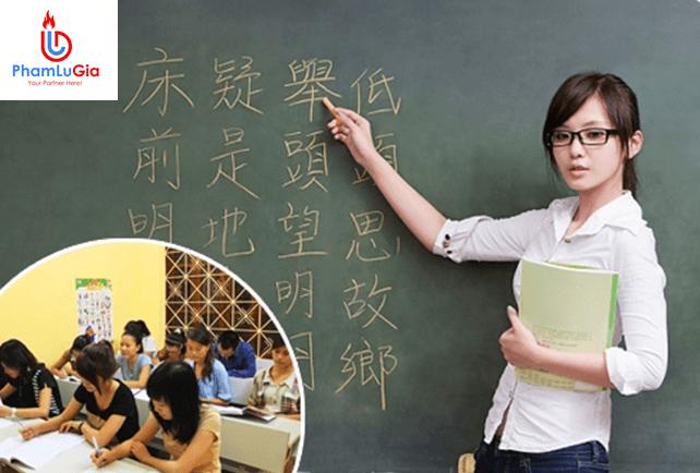 Khai giảng lớp học tiếng Hoa