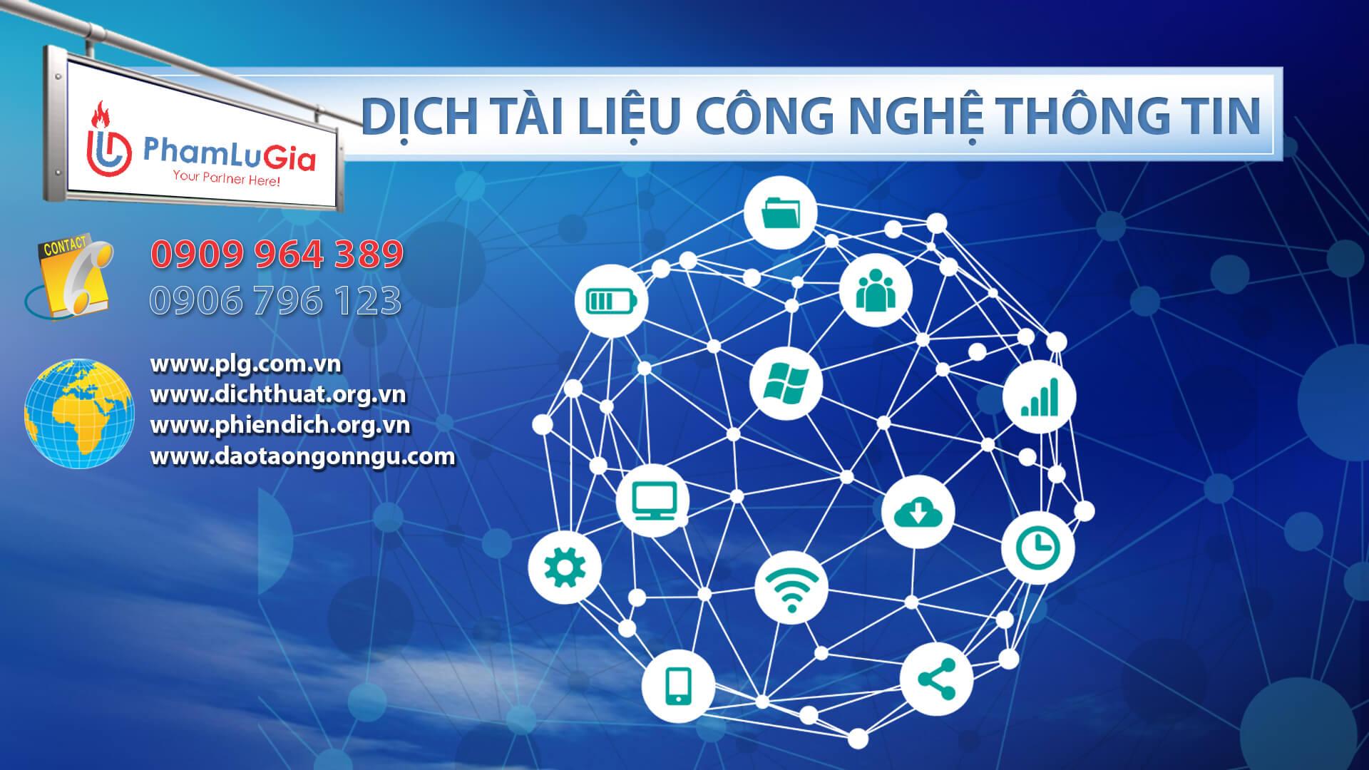 Dịch tài liệu công nghệ thông tin