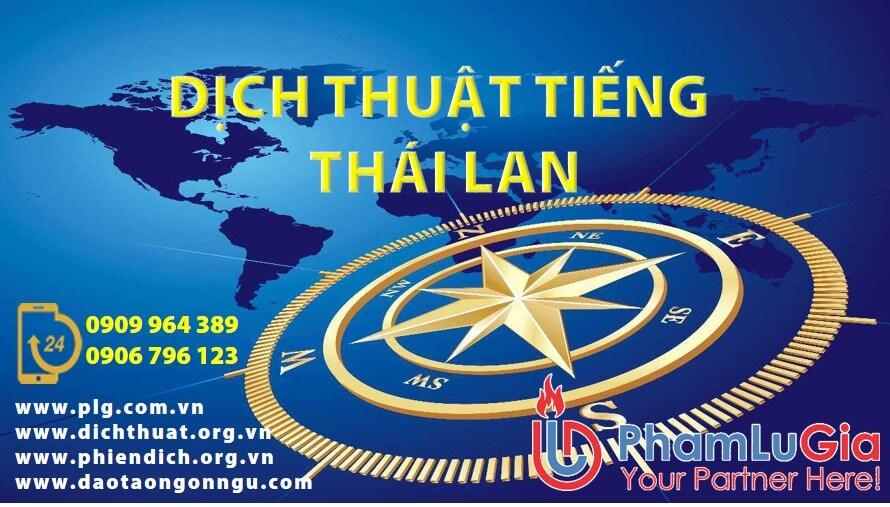 Dịch thuật tiếng Thái sang tiếng Việt
