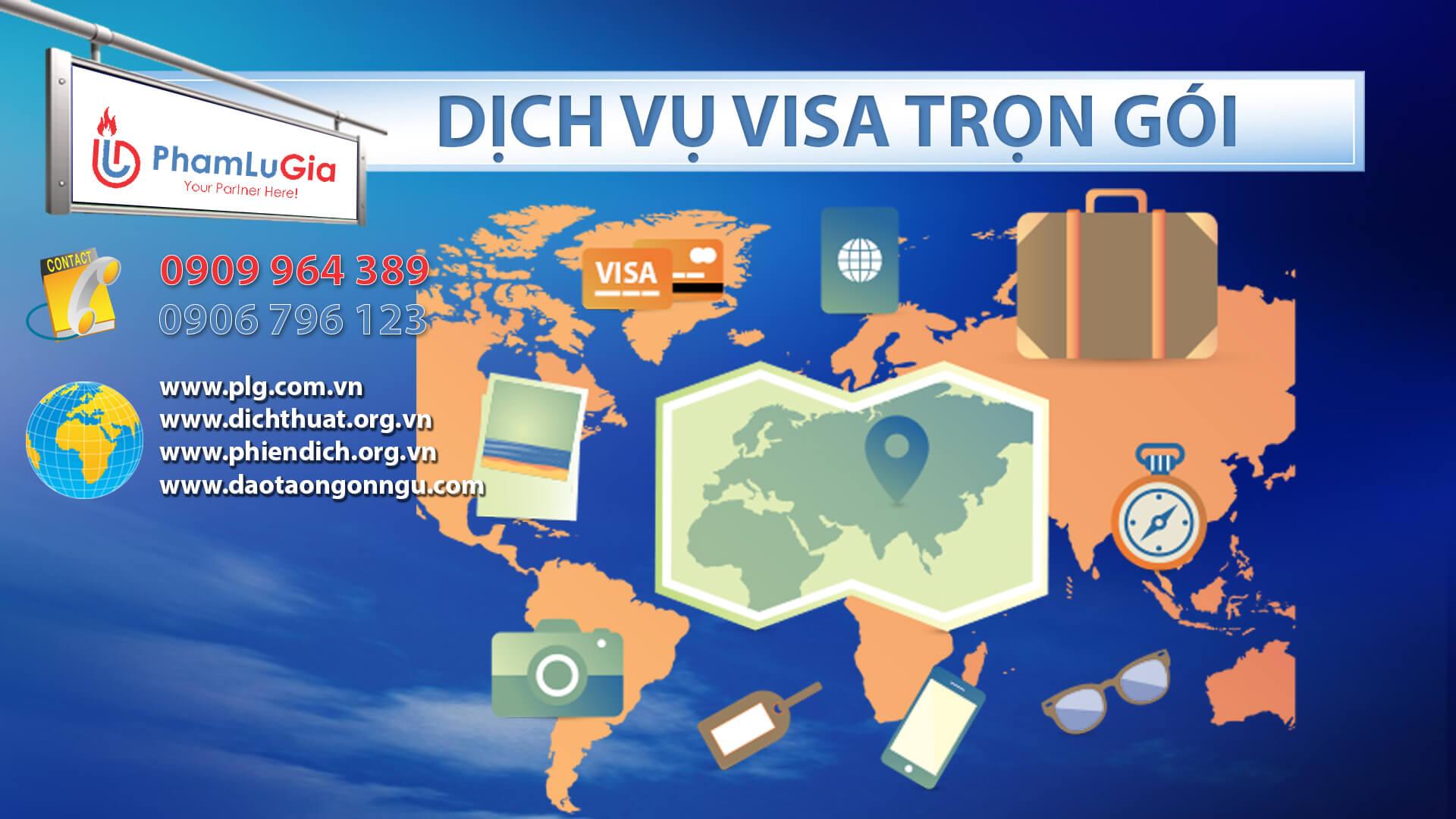 Dịch vụ visa xuất nhập cảnh trọn gói